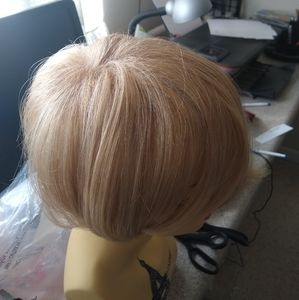 Topper wiglet blonde